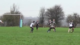 DVB U15s Try saving tackle