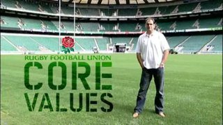 Rugby Core Values