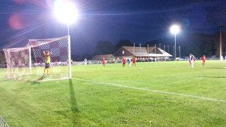 Wes Tate Penalty vs Hassocks 02/09/14 - Macron Store Hastings SCFL Division One