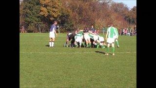 13-11-11 Horsham U14's vs. Chichester (Alex Clery tackle and Duncan Watkins run)