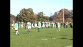 13-11-11 Horsham U14's vs. Chichester (Counter Ruck and Try)