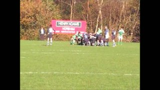 13-11-11 Horsham U14's vs. Chichester (James Fitz fixing the defender then George Palmer Try)