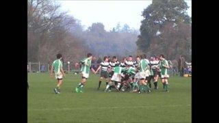 20-11-11 Horsham U14's vs. Pulborough (Backline Tackling)