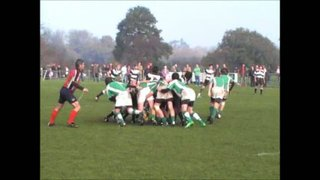 20-11-11 Horsham U14's vs. Pulborough (James Fitz and Alex Clery Counterattack and Try)