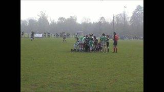 20-11-11 Horsham U14's vs. Pulborough (Nick Bayne tackle and Matt Collier Try)