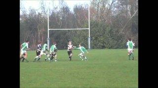 20-11-11 Horsham U14's vs. Pulborough (Tom Hooley and Alex Clery Tackles)