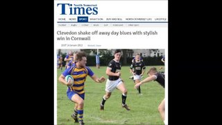 Clevedon RFC first XV 2014/15