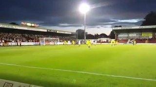 Sean Newtons goal against Kidderminster!