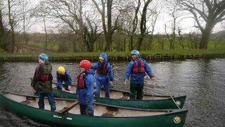 U10 Tour canoe activity forfeit