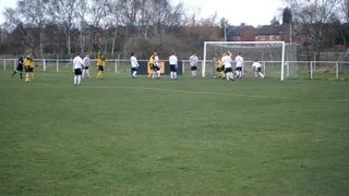 Jack Davis nets the opener v St Andrews in 2-0 victory