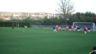 Anton Robinson nets the opener for U19s away at Parkgate