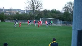 Dan Jackson makes it 2-0 Basford U19s at Parkgate