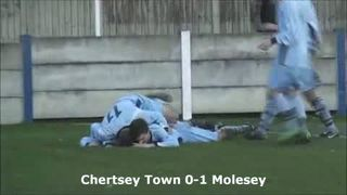 Chertsey 1-2 Molesey (8th January 2011 Taken By TRSTV)
