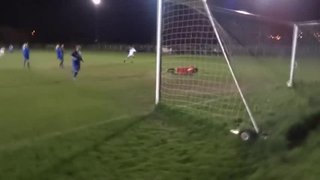 James McShane Goal Securing the CCL Title