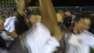 Players Celebrations After securing the CCL Title