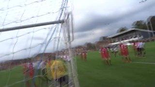 Stafforde Palmer 2nd goal vs. Walton & Hersham (Video by Chris Briscoe)