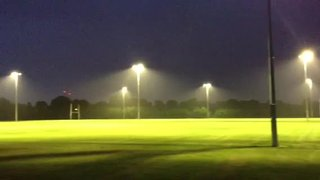New Floodlights for Training