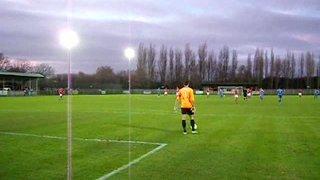 5.Uxbridge FC v Histon FC FAT-3Q 26th Nov 2011 Resut 2-1