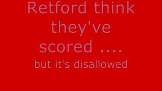 Retford United Away - F.A. Cup Preliminary Round 30/08/08