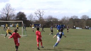 14.04.13 U9's Clee Town BJB vs Clee Town Pattesons - Ollie Kendall 1st Goal