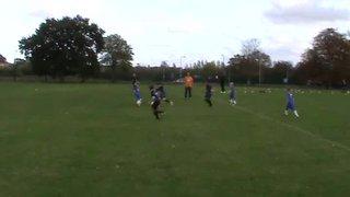 Ollie Kendall 3rd Goal 20.10.13  BJB Clee Town U10 v Grimsby Borough Juniors
