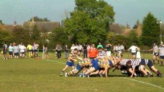 Ed Coy try vs Welwyn
