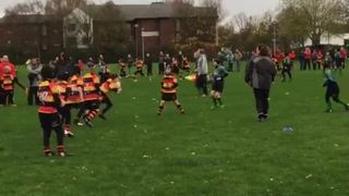 Great try by the U10's v Ormskirk