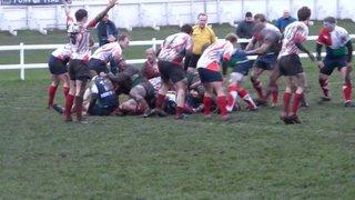 Danny Hague's 3rd Try at Westoe