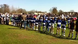1st XV vs. OE Guard of Honour