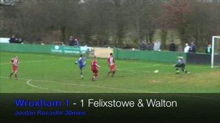 Wroxham vs Felixstowe