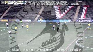 Widnes FC Vs Warrington Town (26.07.16) Preseason