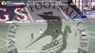 Widnes FC Vs Sandbach United (08.08.16)