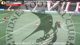 Widnes FC Vs Chadderton FC (13.08.16)
