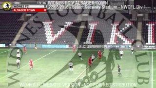 Widnes FC Vs Alsager Town (22.08.16)