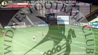 Widnes FC Vs Whitchurch Alport (05.09.16)