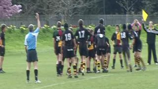 Wasps U16 v Windsor Hugo's drop goal