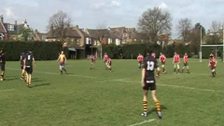 Wasps U16 v GHA April 2009 nearly a great try