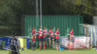 Rosco's 2nd try v London Welsh at Cobham 10's 2009