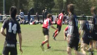 Try v London Welsh at Cobham 10's 2009