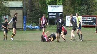 Rosco's try v Rosslyn Park at Cobham 10's 2009