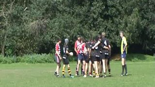 Sam's 2nd try v Rosslyn Park at Cobham 10's 2009