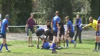 Charlie's spill in Final Cobham 10's 2009