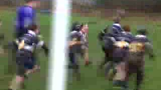 u10 Yarnbury vs Wetherby - try saving tackle