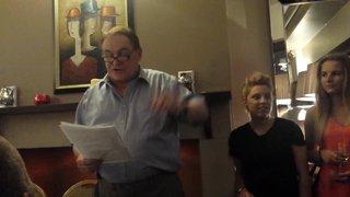 Ken Beattie Morpeth Town Presentation Night 2015