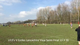 Southport U13 V Eccles 13 6 16