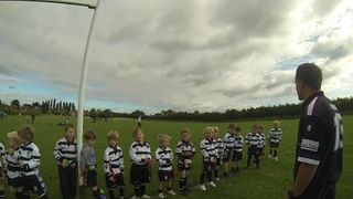 Under7s/6s Getting Ready To Warmup w. Balders