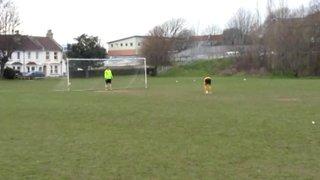 Penalties - 1-1 Stubbs Scores