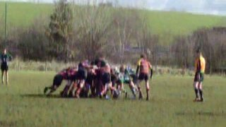 Chosen Hill 45  Old Cryptians 5 (under 15s county cup)