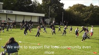 Short video supporting our entry into the Aviva Community Awards
