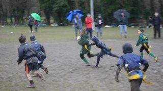 Slough U8 - Malachi scoring a try at Redingensians